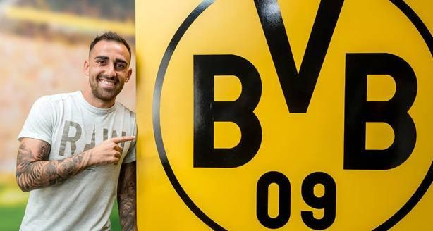 Paco Alcácer, nuevo jugador del Borussia Dortmund