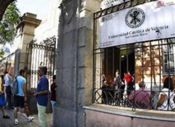Sede de la UCV en Valencia