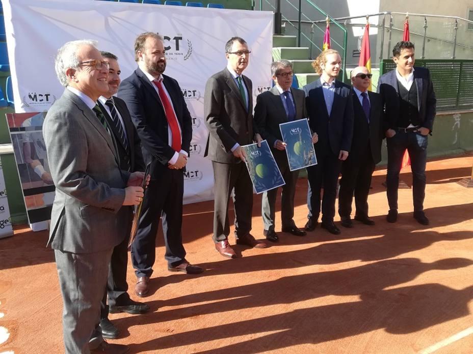El Murcia Club de Tenis 1919 presentó su centenario
