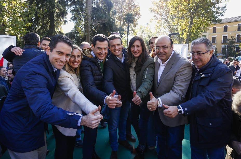 Casado cerrará campaña el viernes con actos en Córdoba y Sevilla mientras que García Egea visitará Almería