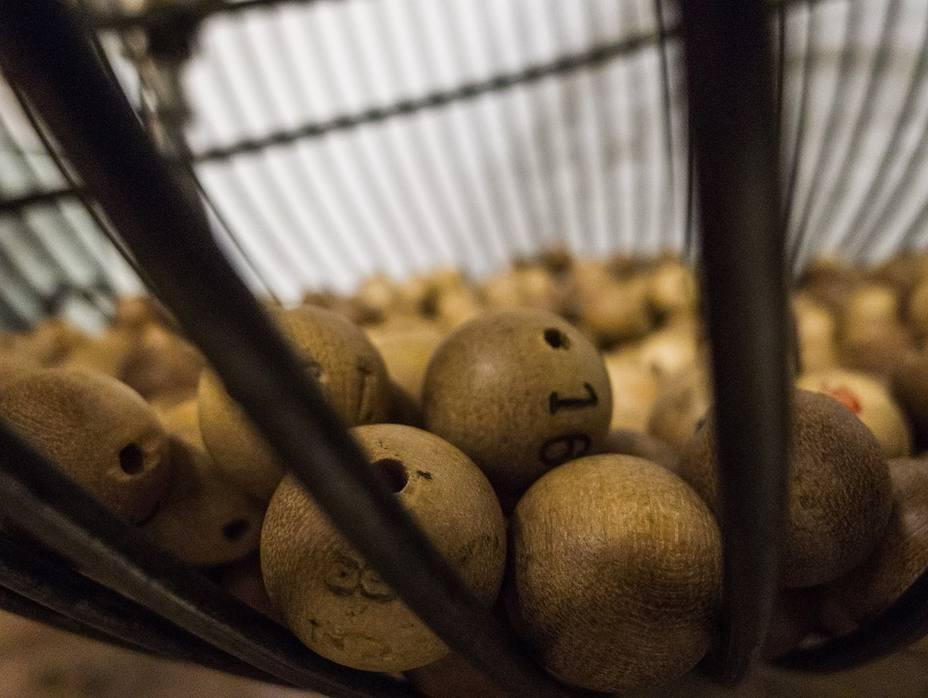 Bombo de la lotería