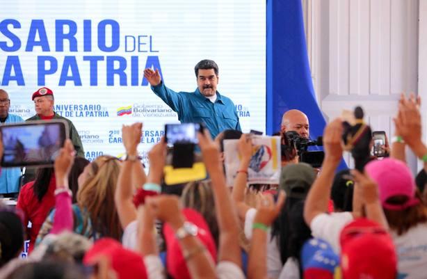 Maduro acusa a EE.UU. de querer que se desate el caos en Venezuela