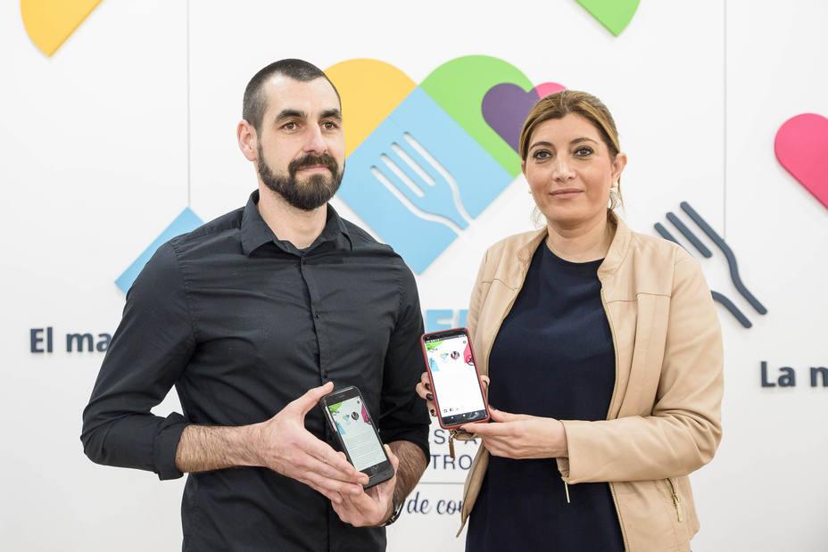 Carolina Lafita presenta la APP Almería 2019/Ayto