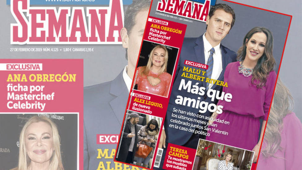 Albert Rivera y Malú, ¿pareja sentimental?