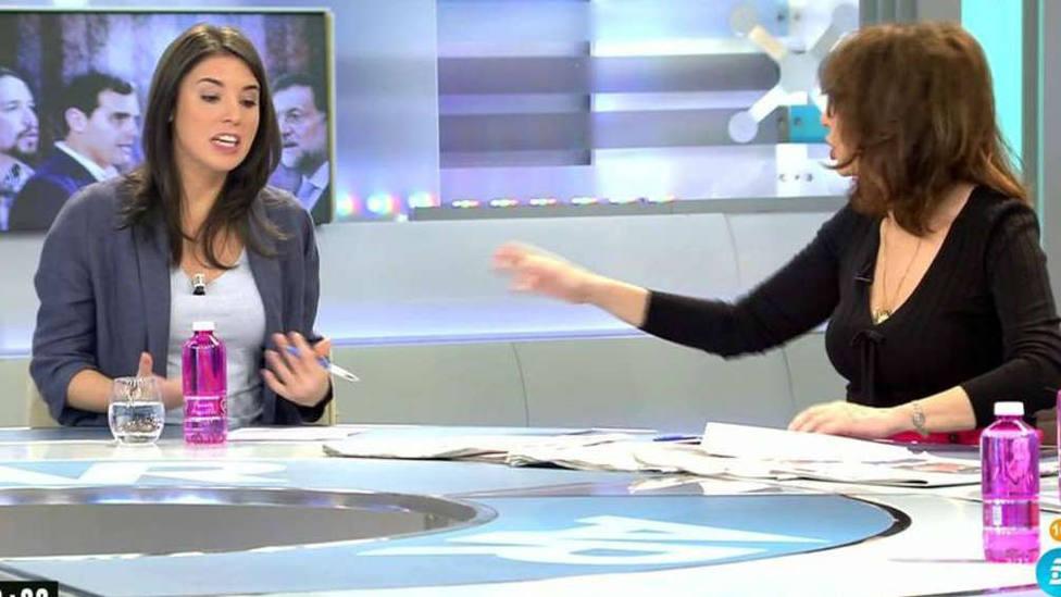 El cara a cara más tenso entre Irene Montero y Ana Rosa Quintana por el besamanos al Rey