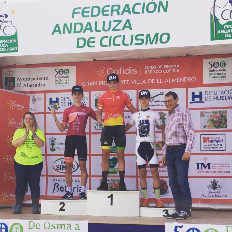 El ciclista Carlos Canal