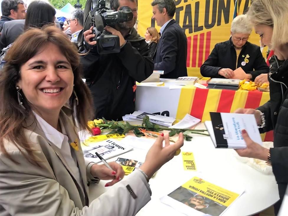 Borràs (JxCat) critica insultos a Cataluña en el debate y que les excluyeron