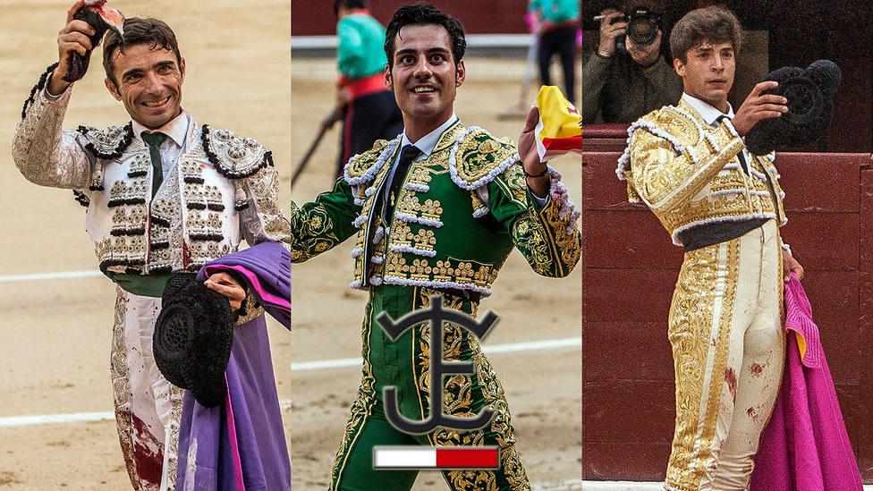 Fernando Robleño, Gómez del Pilar y Ángel Sánchez ante toros de José Escolar