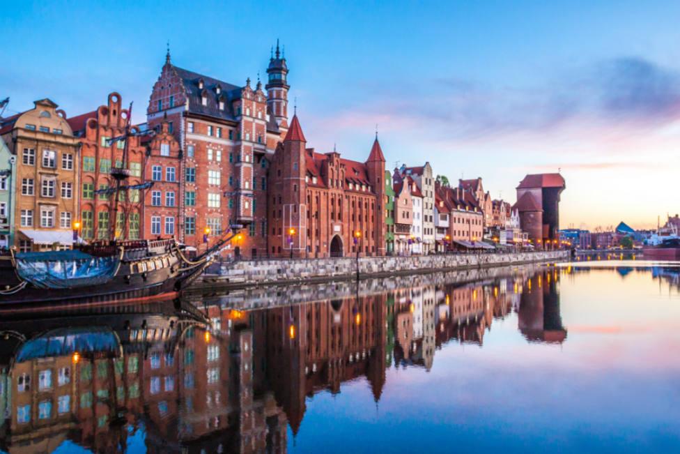 El Princesa de la Concordia distingue a la ciudad polaca de Gdansk