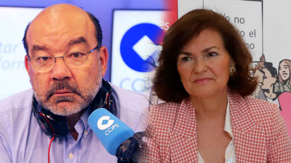 El brutal baño de realidad de Expósito y Herrera a Carmen Calvo sobre la violencia machista
