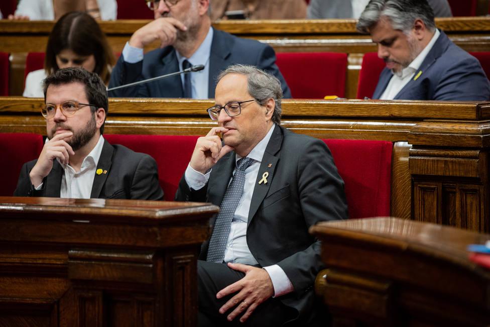 Así es la primera ley del Govern de Torra tras casi un año y tres meses de legislatura