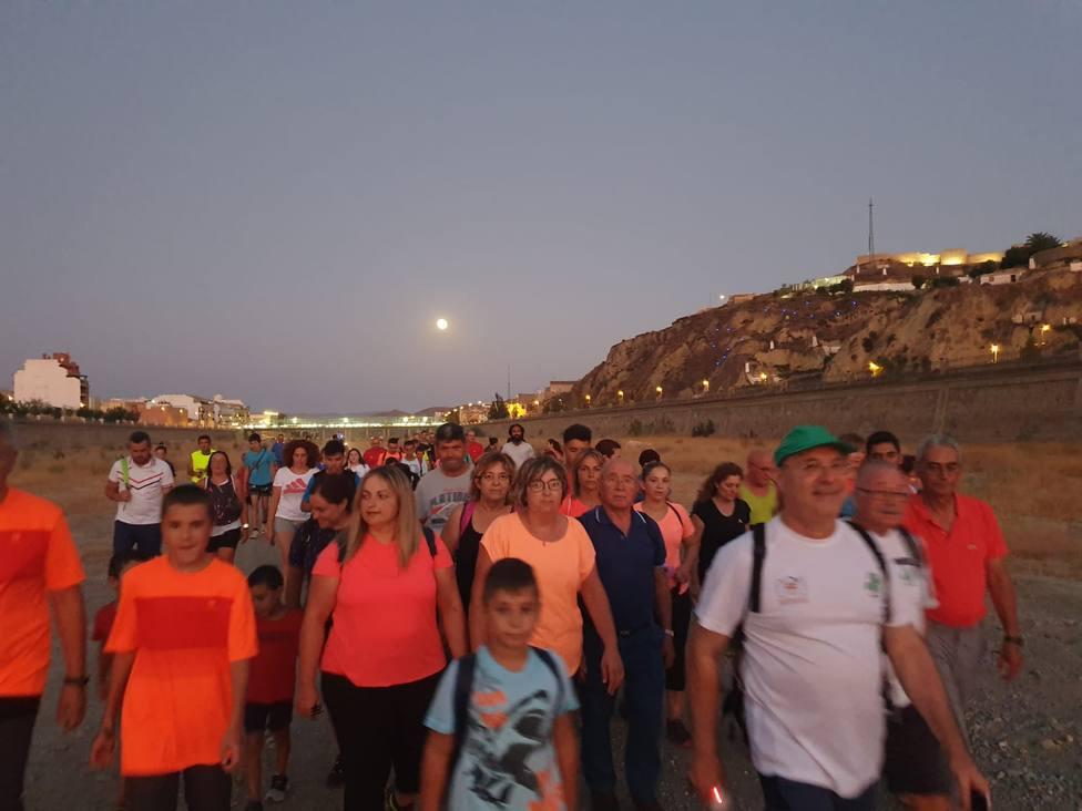 Más de 130 participantes en la II Ruta Popular Nocturna Andaya