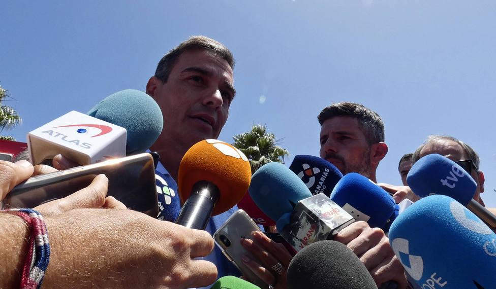Sánchez participa este domingo en la cena de clausura del G7 y se entrevistará con Boris Johnson