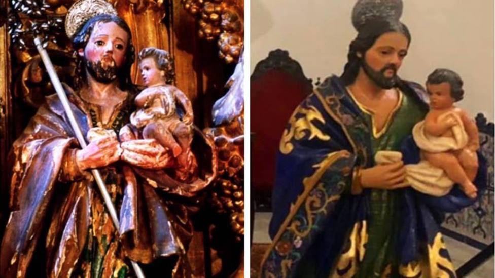 ¿Nuevo Ecce Homo?: Polémica en Sevilla por la restauración de unas esculturas del siglo XVIII