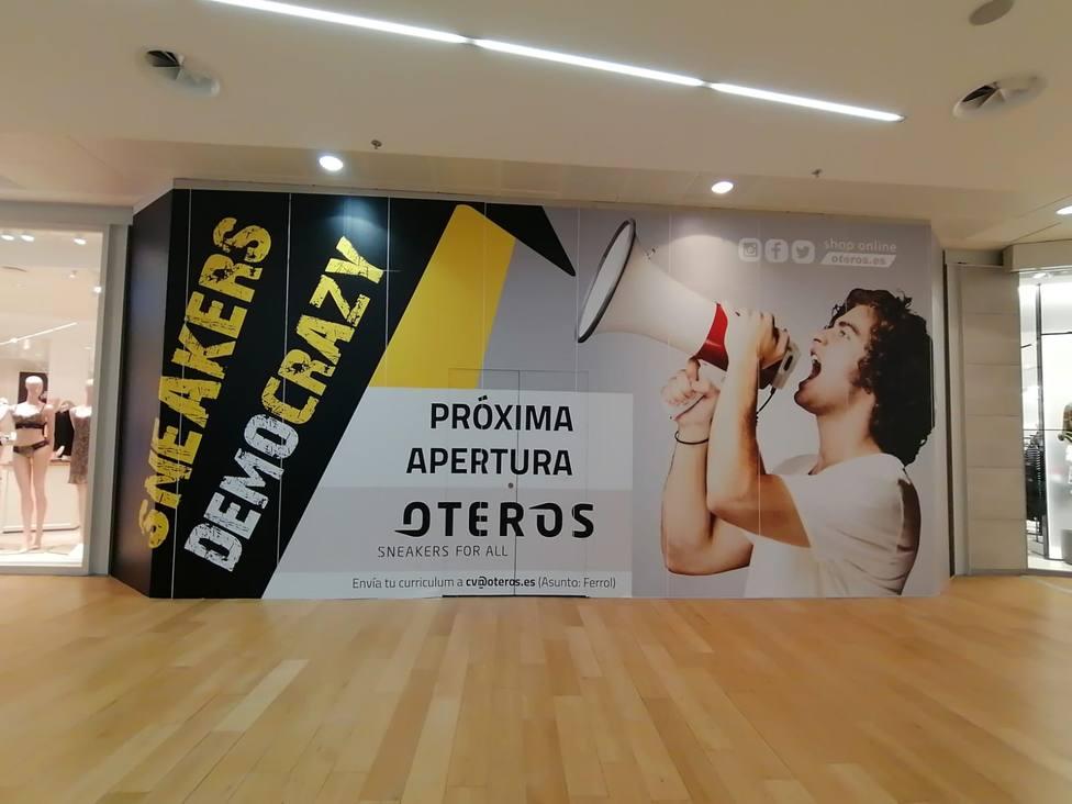 Las obras ya se han iniciado en la planta baja del centro comercial situado en A Gándara