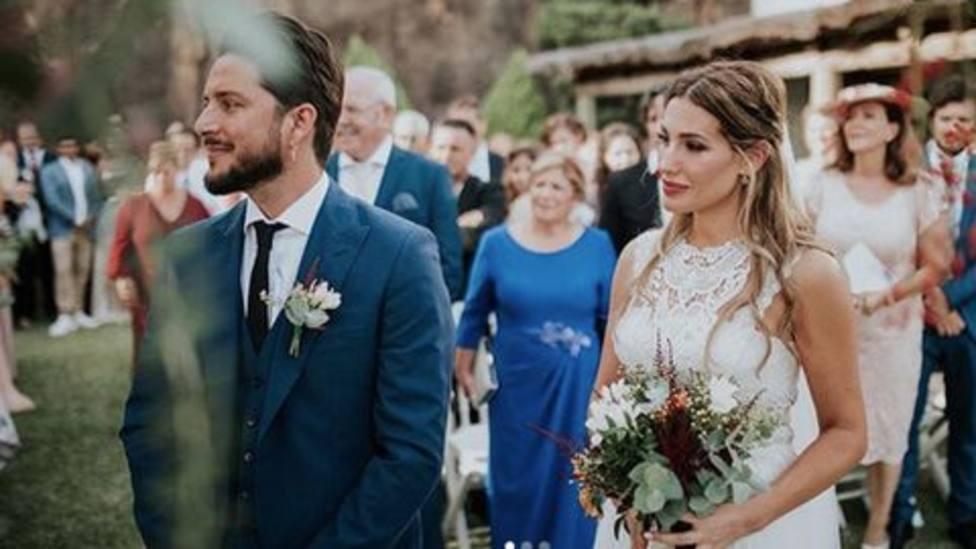 Así consiguieron Manuel Carrasco y Almudena Navalón que los invitados a su boda recordaran siempre el momento