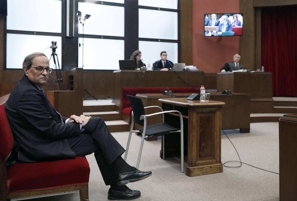 La defensa de Torra pide que testifiquen en el juicio los miembros de la JEC que le denunciaron