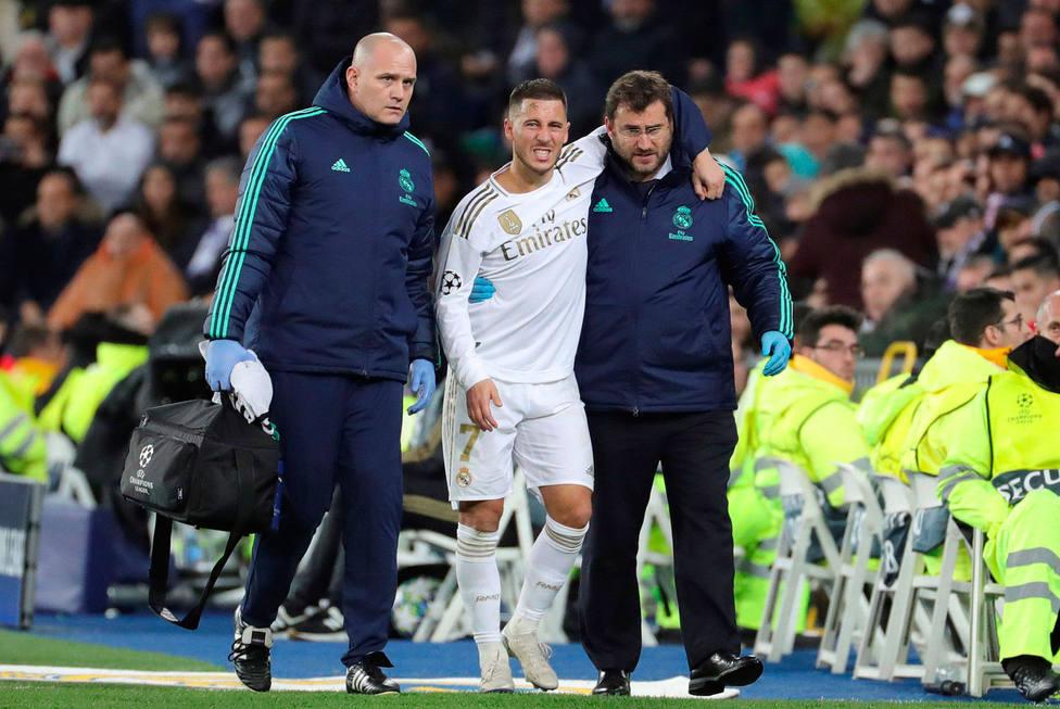Hazard se retira lesionado (EFE)