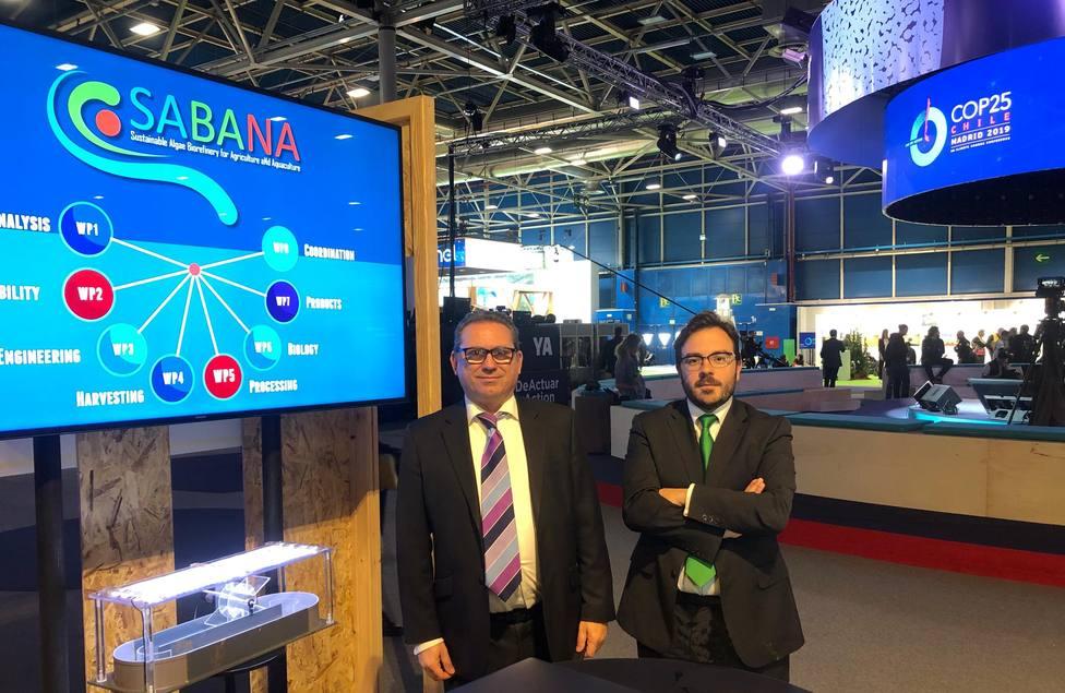 Fernando Román y David Iglesias, de la empresa Biorizon Biotech