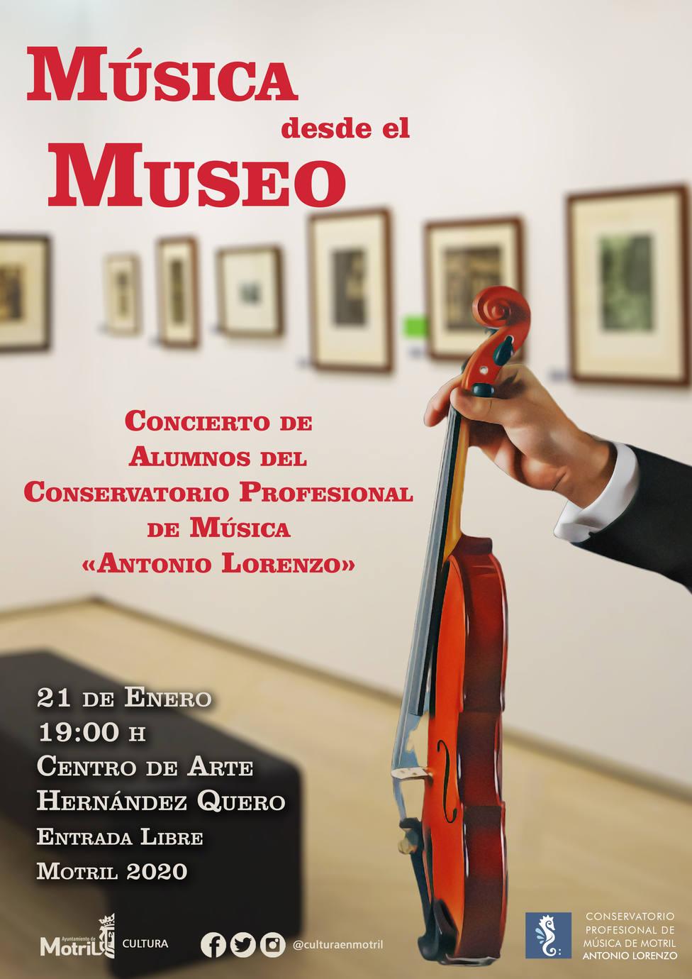 Música desde el Museo Hernández Quero