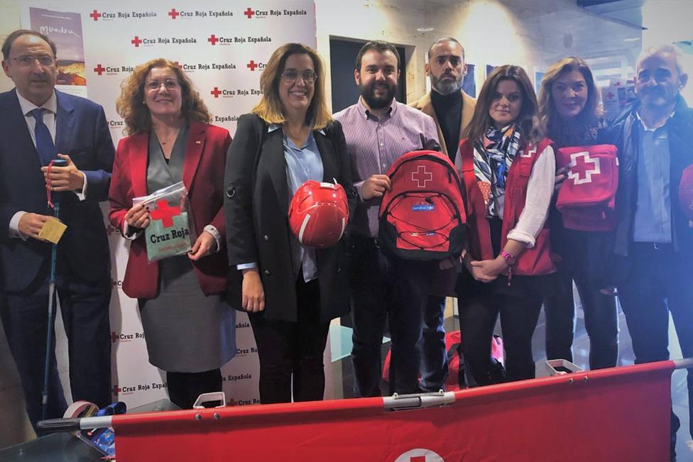 Cruz Roja Palencia y Diputación presentan una jornada formativa en Equipos de Respuesta Básica de Emergencia