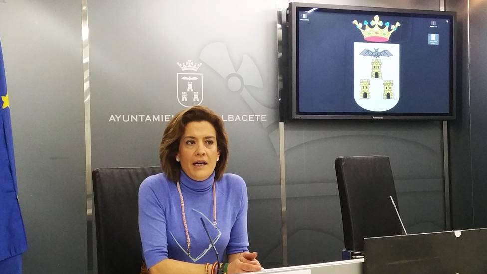 Rosario Velasco portavoz de VOX en el Ayuntamiento de Albacete