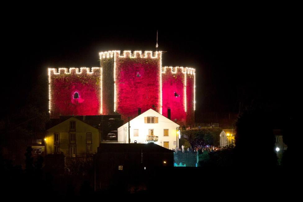 Castillo de Moeche durante uno de los festivales - FOTO: César Galdo