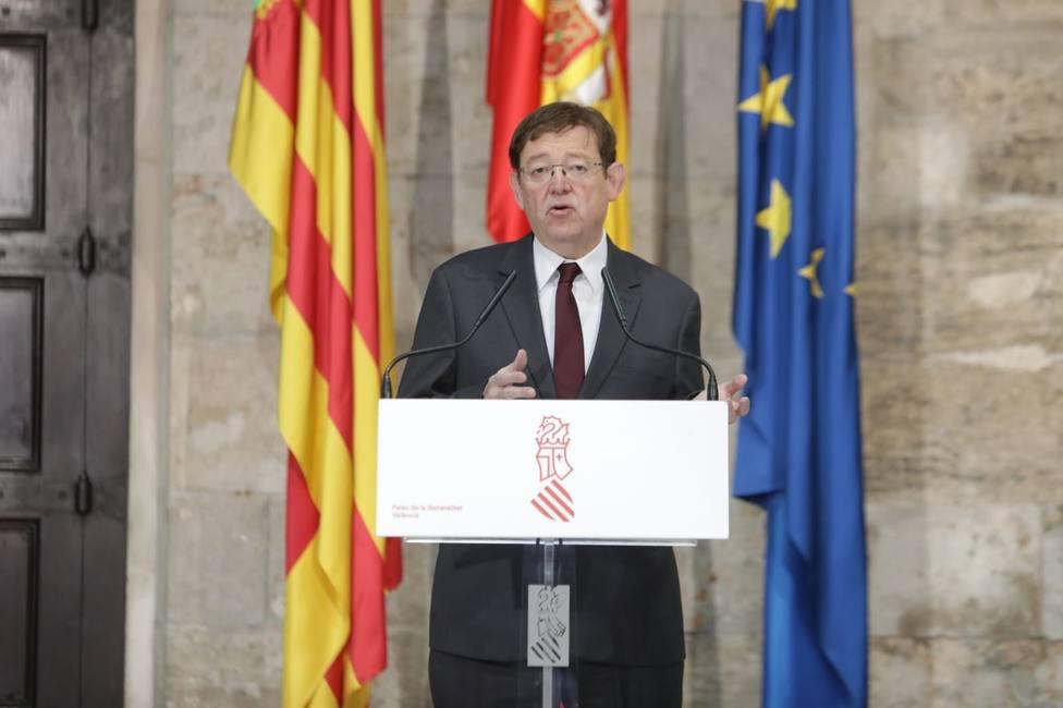 Puig sobre ceder respiradores: De momento tenemos que garantizar que los valencianos tengan suficientes