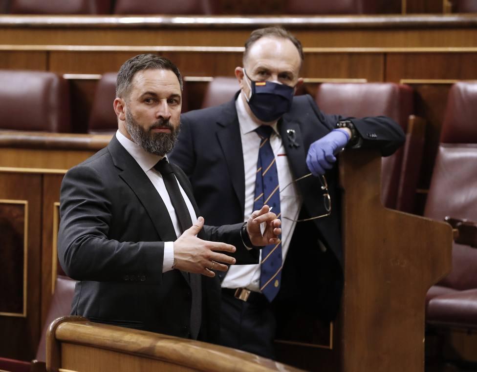 Abascal afea a Iglesias que envíe a su partida de la porra a su casa: Ya me lo hicieron sus amigos de ETA