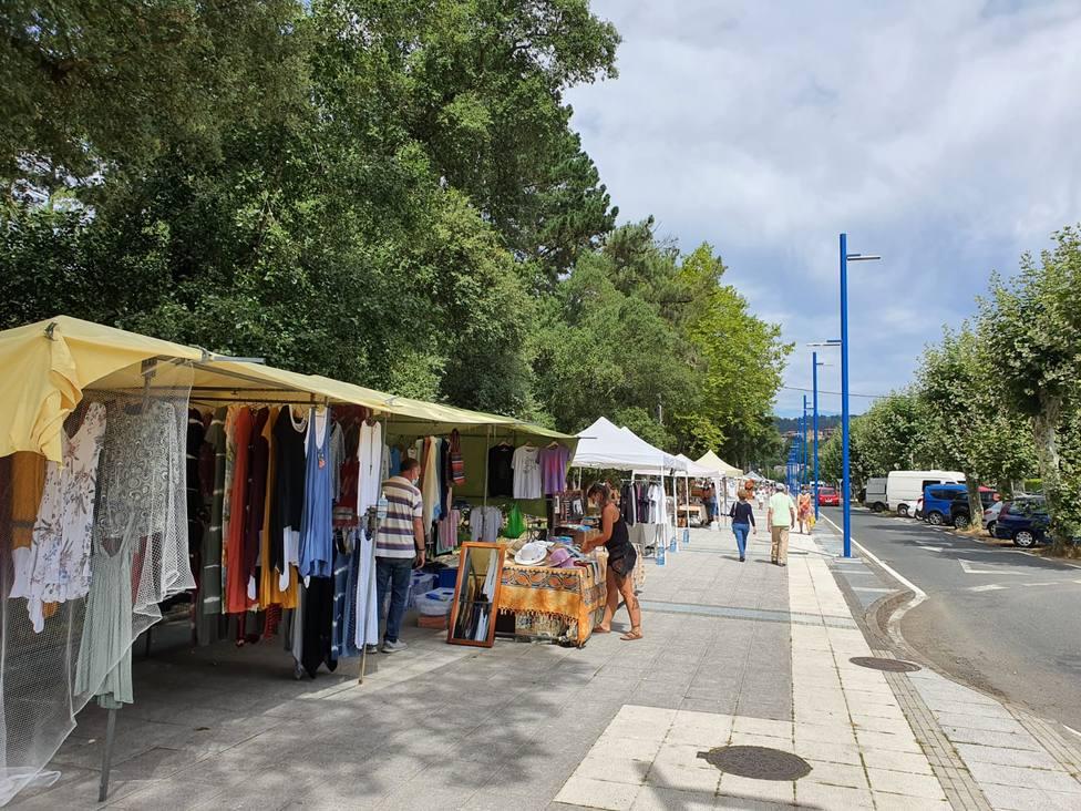 La feria abrirá al público entre las 11 y las 21 horas desde este fin de semana - FOTO: Concello Cabanas