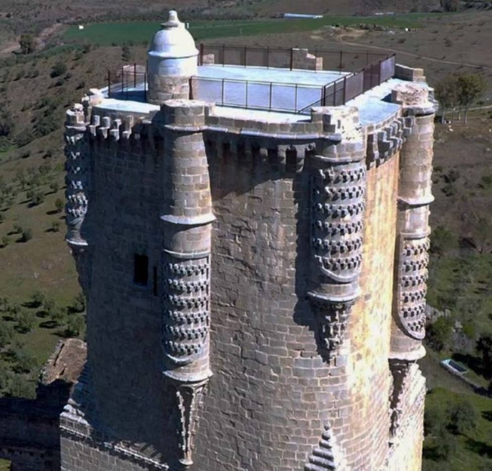 El castillo de Gahete de Belalcázar sale de la Lista Roja del Patrimonio tras las obras de la Junta