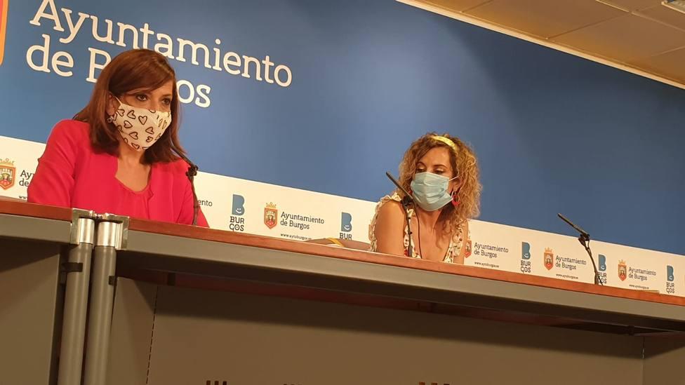 Nuria Barrio y Blanca Carpintero