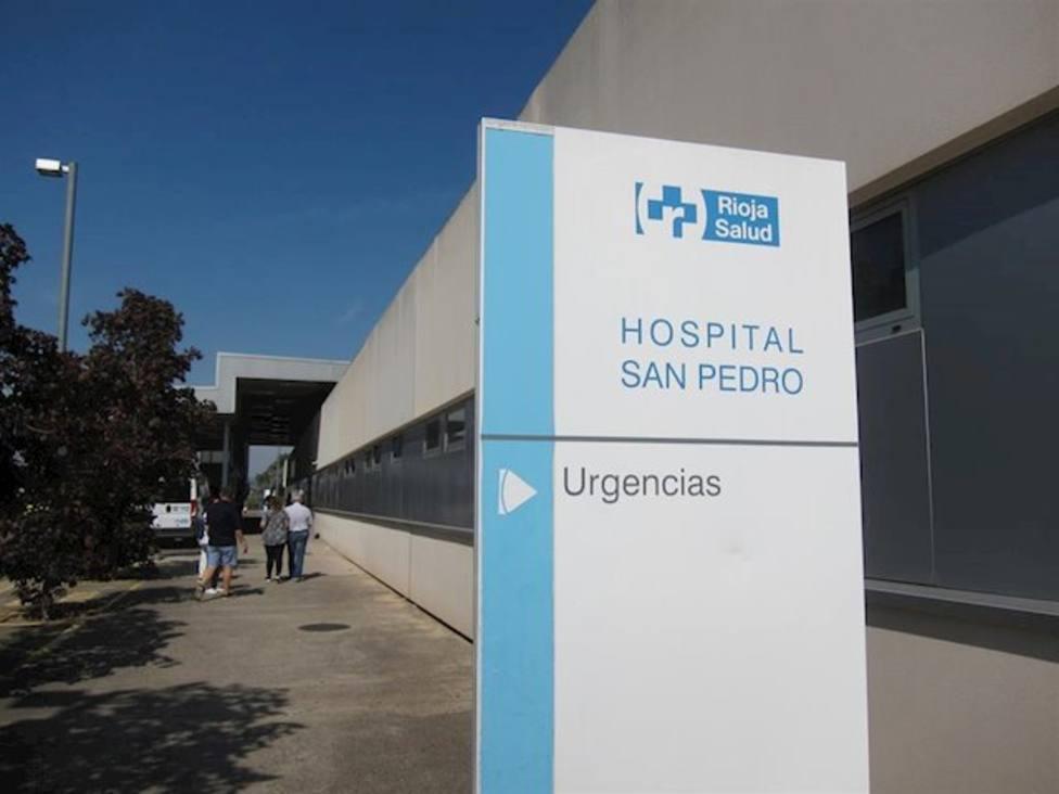 Trasladan al San Pedro de Logroño a un bebé por inhalar humo en un incendio en Ribafrecha