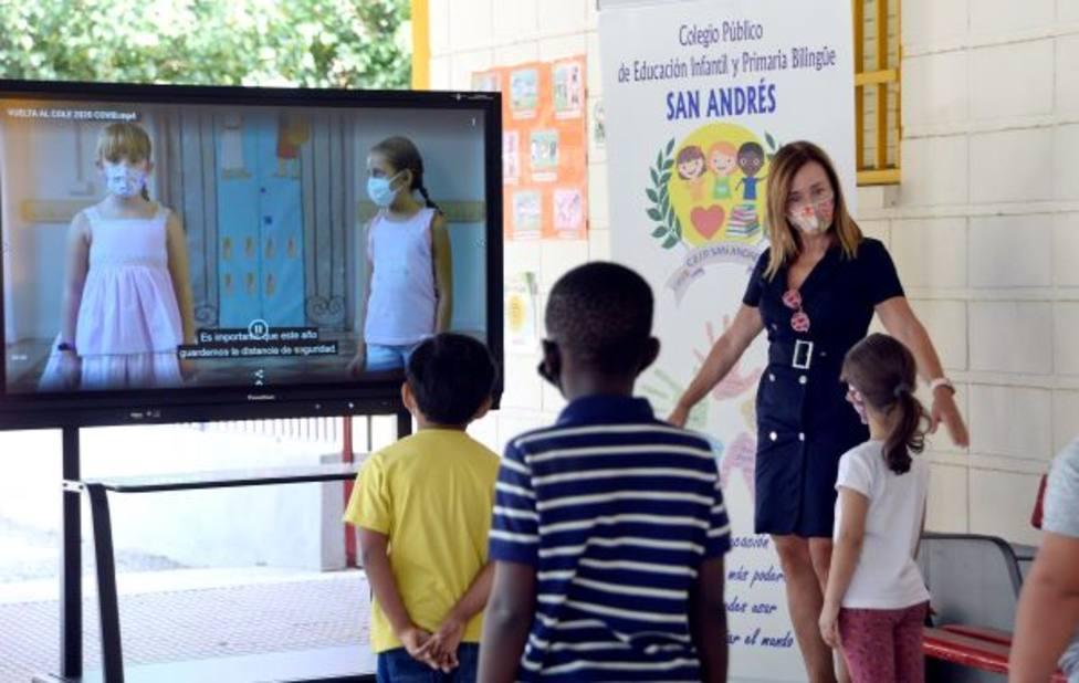 Más de 28.000 alumnos de Infantil y Primaria del municipio inician el curso escolar 2020/2021