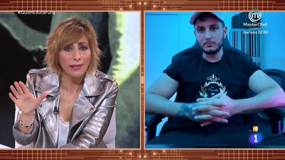 Mamen Asencio y Omar Montes en ¿Quién educa a quién?