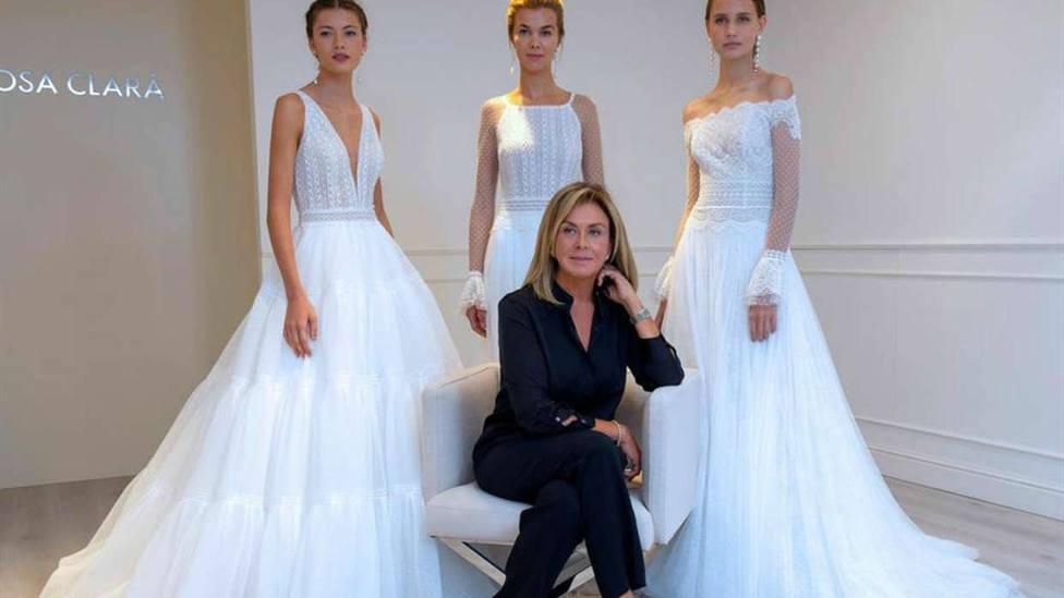 La diseñadora Rosa Clará: El secreto para no cancelar o retrasar una boda está en los test rápidos