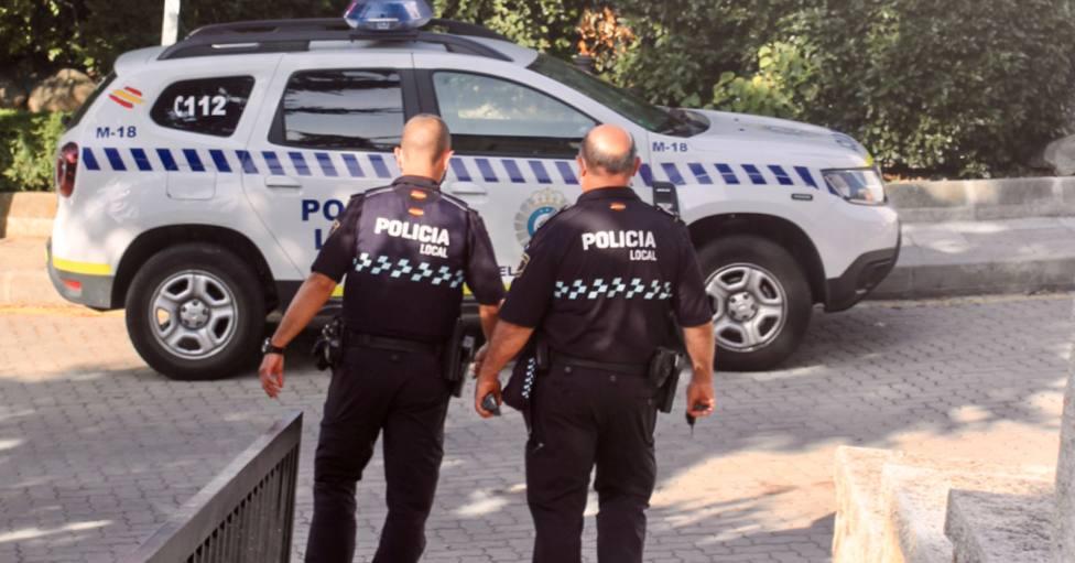 Policía local de El Escorial