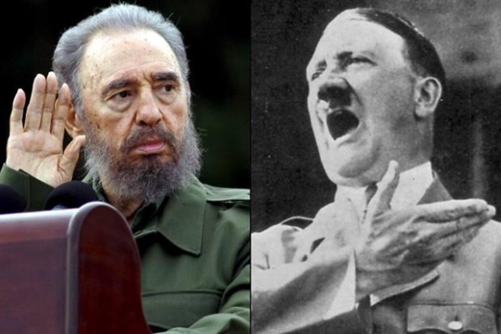 La frase emblemática con la que se recuerda a Fidel Castro que en realidad pertenece a Adolf Hitler
