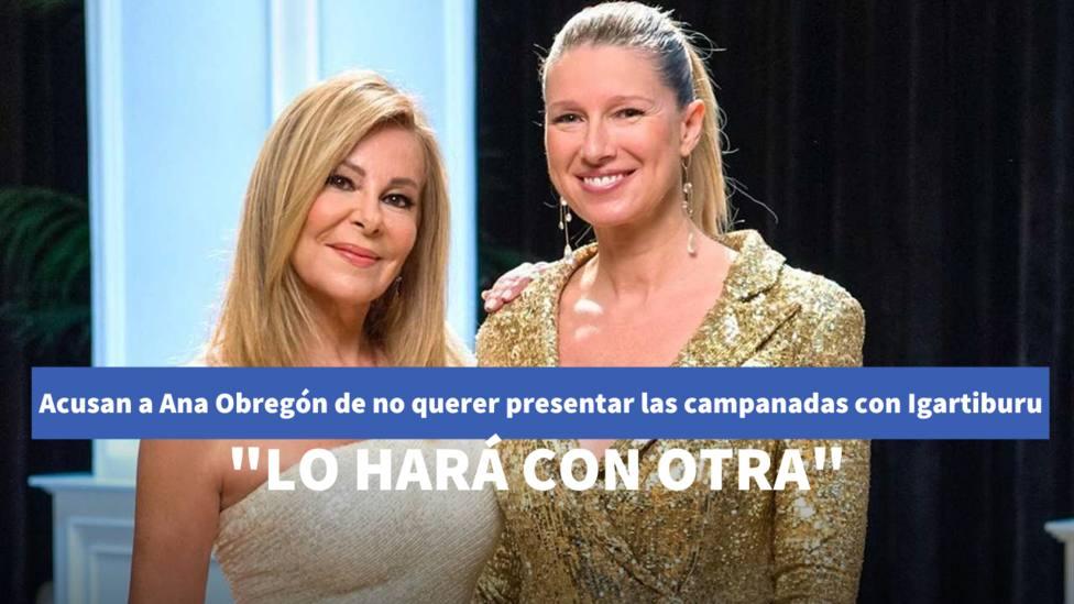 Ana Obregón y Anne Igartiburu