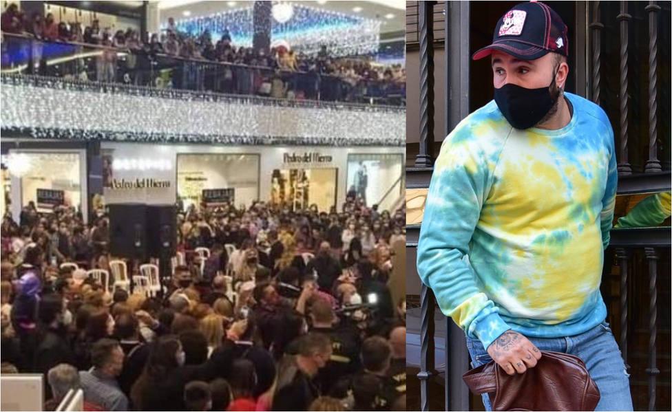 El evento multitudinario de Marbella en el que Kiko Rivera hacía de Rey Mago, desalojado por la Policía