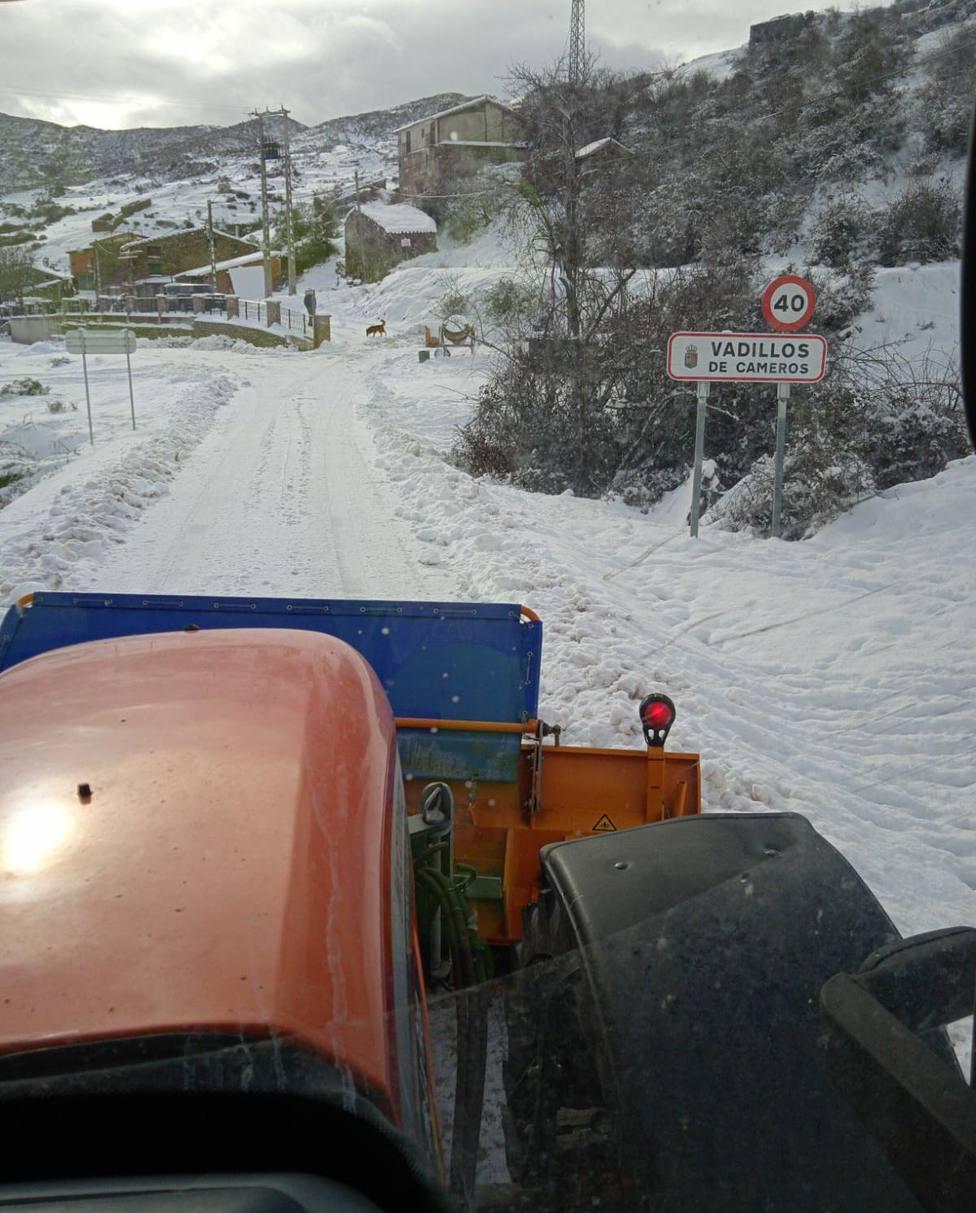 El tiempo en La Rioja: El temporal no da tregua con nieve y temperaturas mínimas extremas