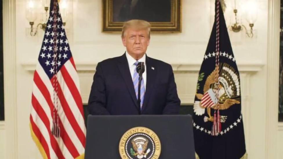Trump reconoce la derrota electoral y condena el asalto al Capitolio