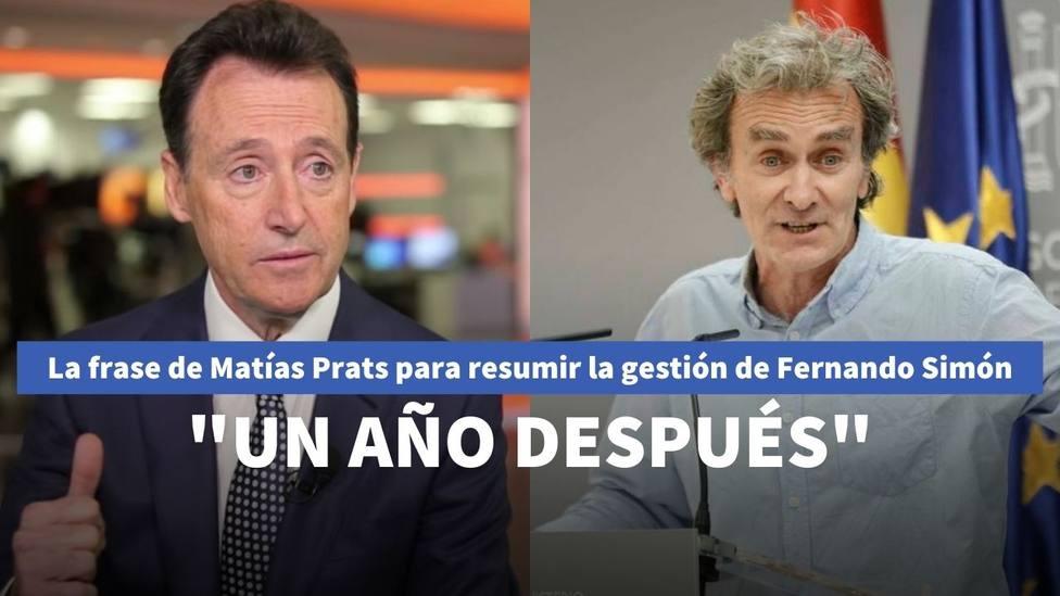 Matías Prats y Fernando Simón