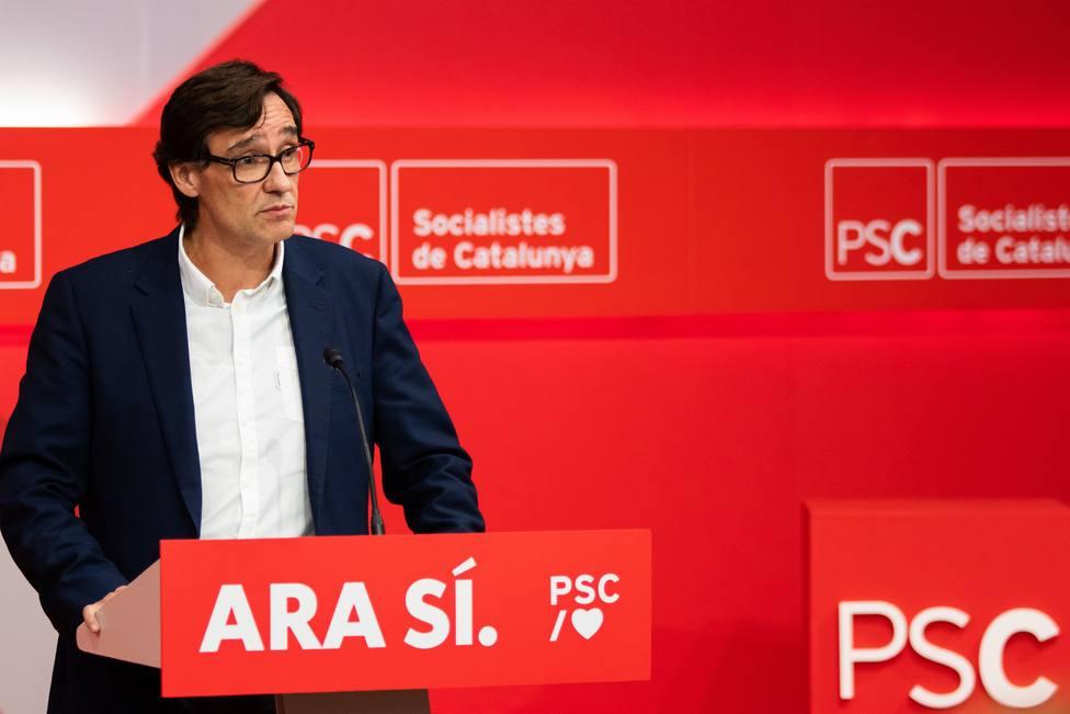 Salvador Illa, candidato del PSC