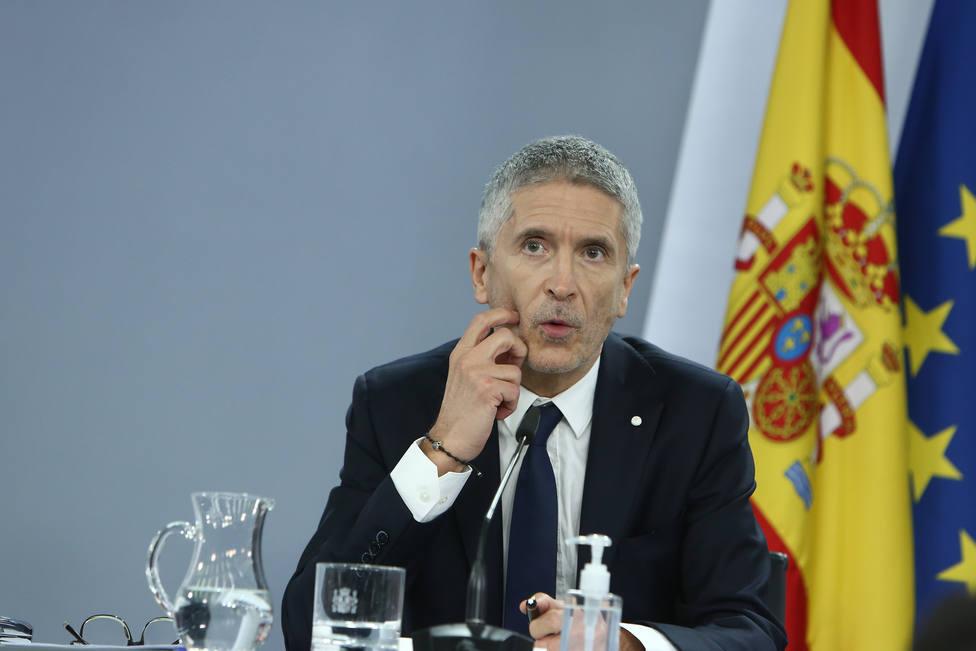 Marlaska asegura que prepara un régimen sancionador para acabar con los actos de homenaje a ETA