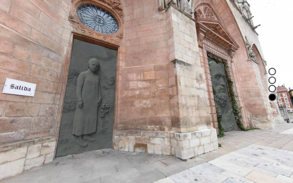 Puertas catedral izquierda