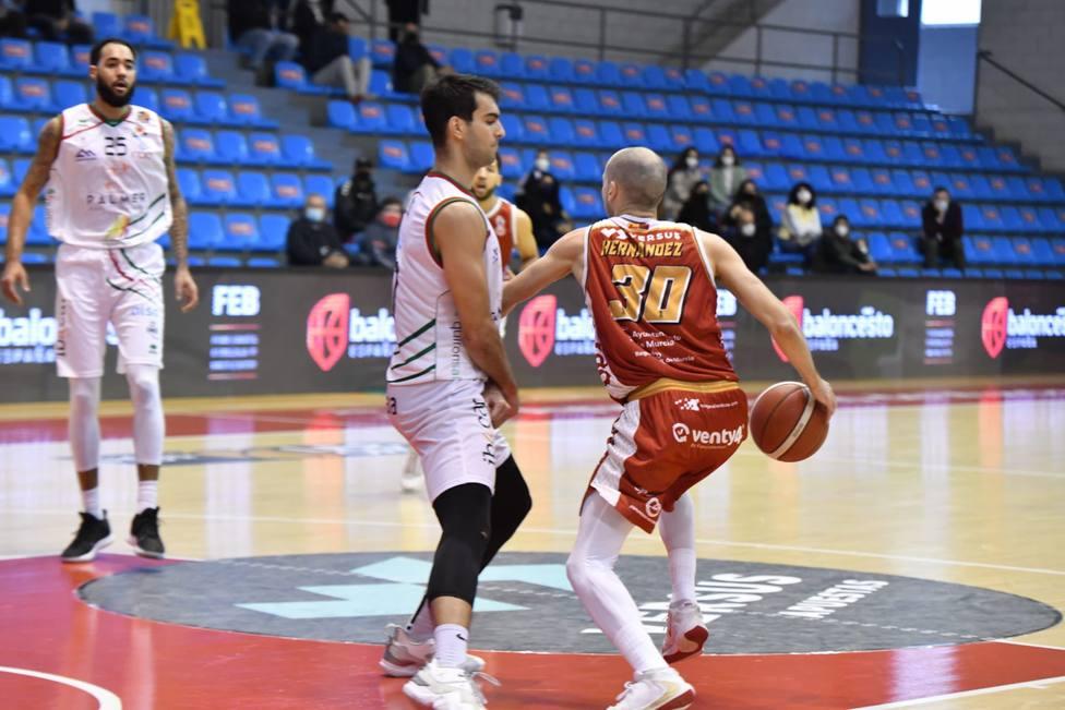 Real Murcia baloncesto cierra la primera fase con derrota ante Palma (63-68)