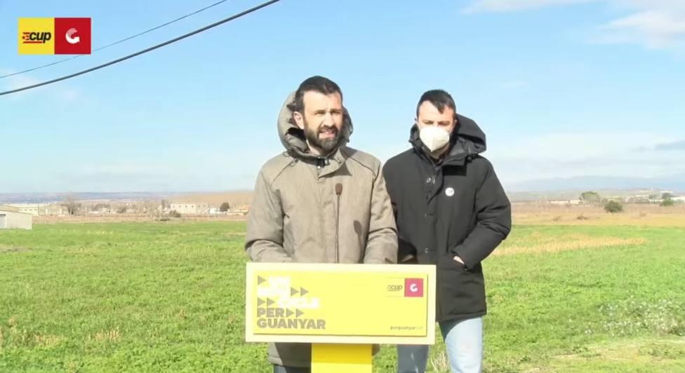La CUP propone a Pau Juvillà para presidir el Parlament