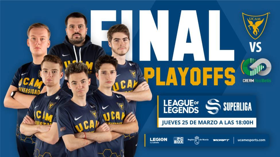 UCAM Esports Club hace historia llegando a la final de SuperLiga y clasificándose para European Masters