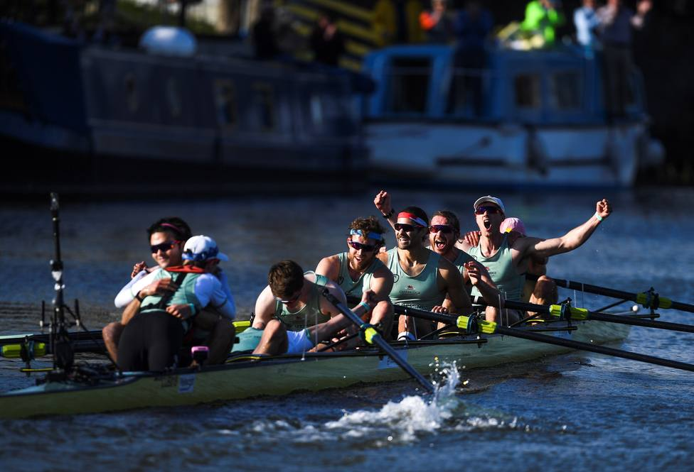 Oxford and Cambridge boat race 2021